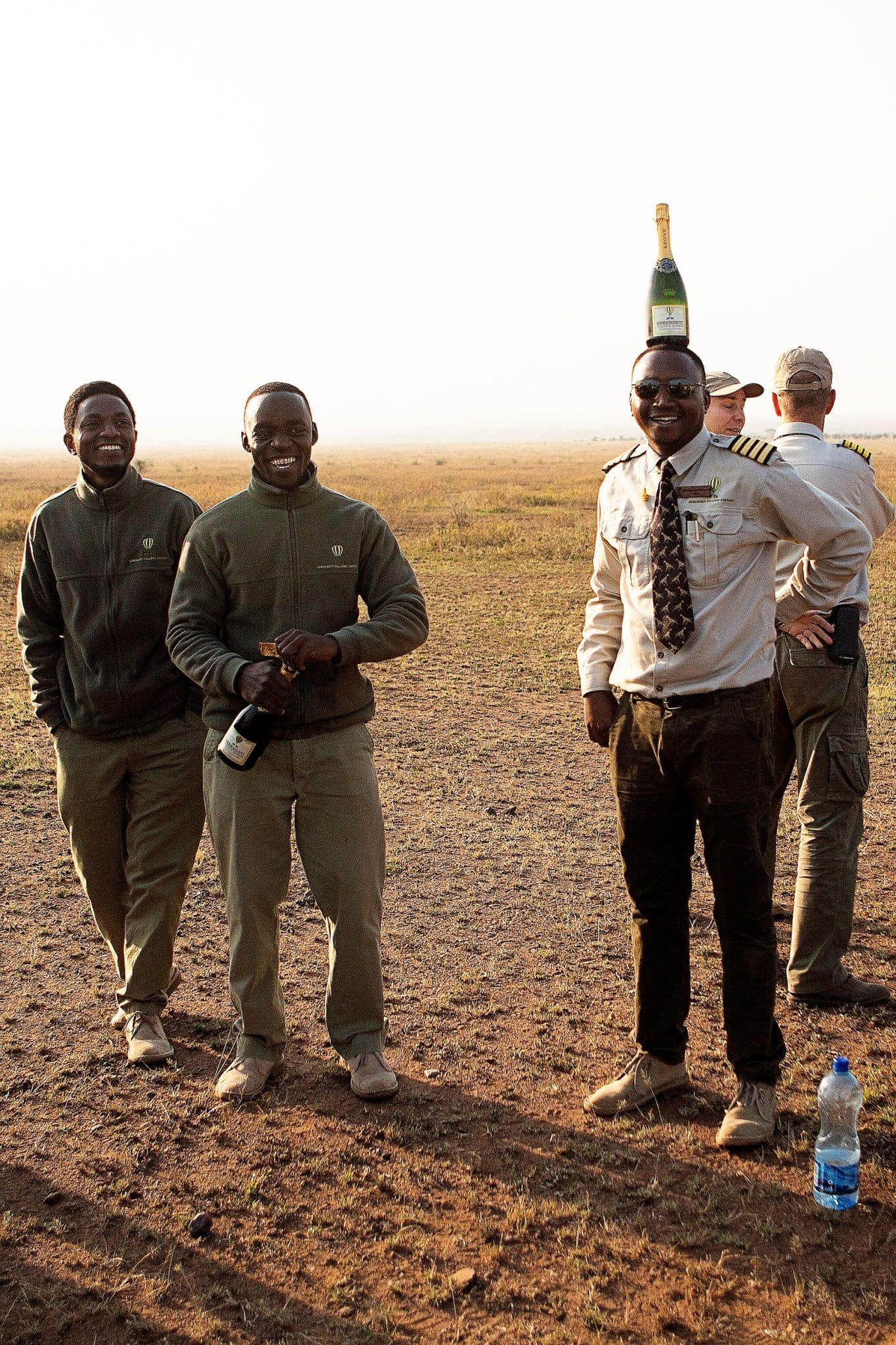 Serengeti Balloon Safari toast
