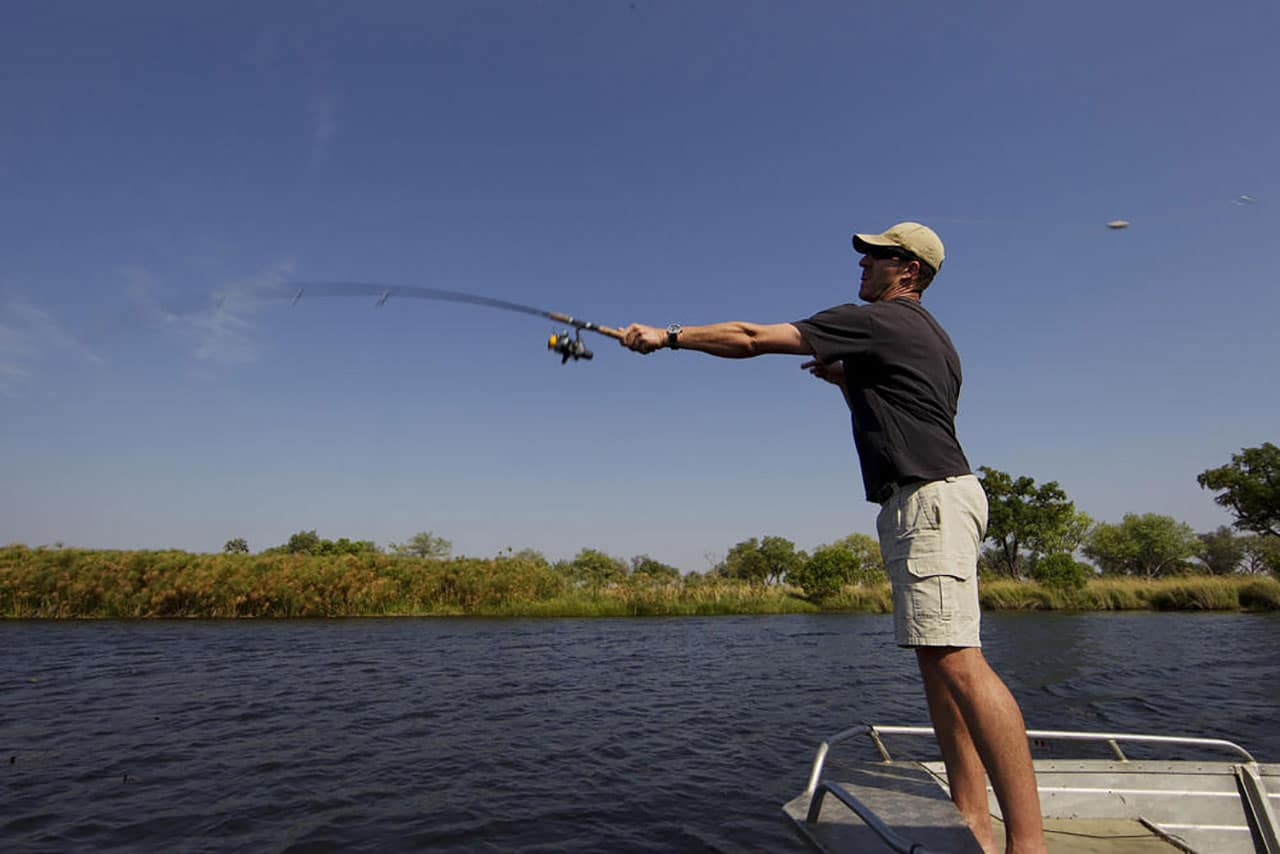 Fishing On Okavango Delta