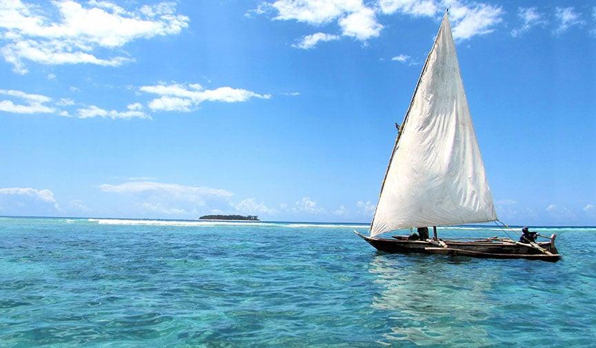 Sailing Near Zanzibar