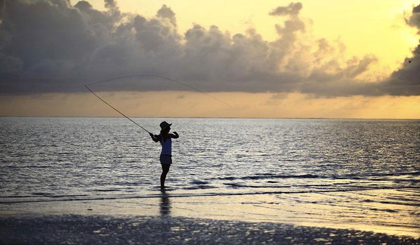 Fishing Along Zanzibar Island