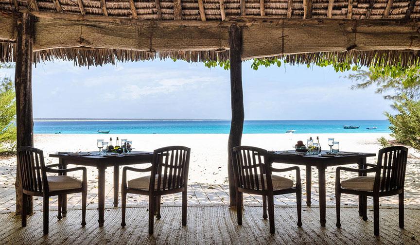 Dining With Zanzibar Ocean View