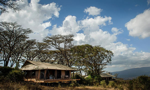 Lodge in ngorongoro crater