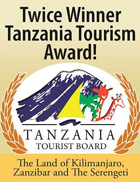 Tanzania Tourist Board Award