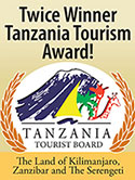 Twice winner tanzania tourism award