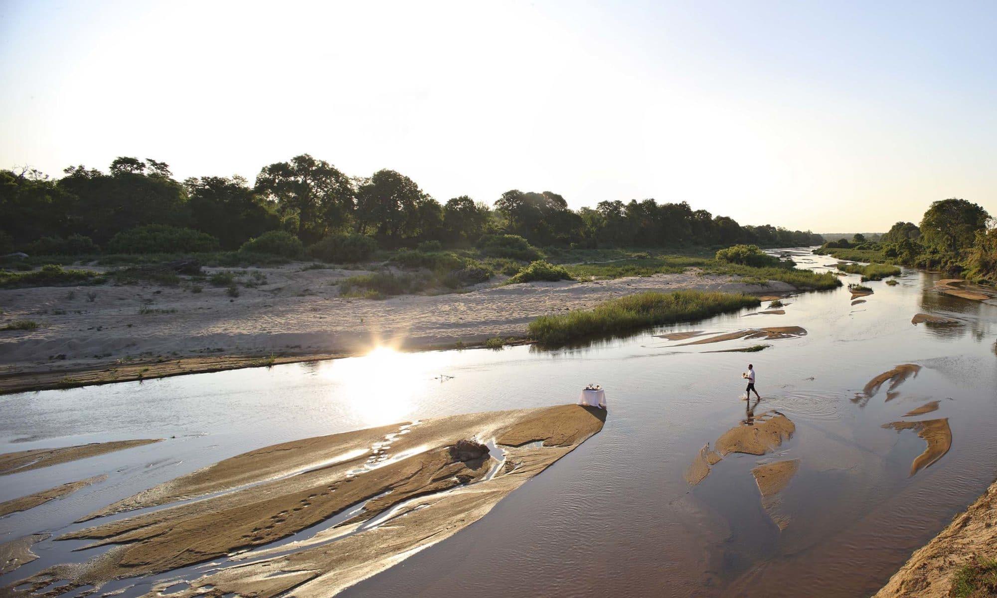 Sabi Sand Game Reserve sundowner