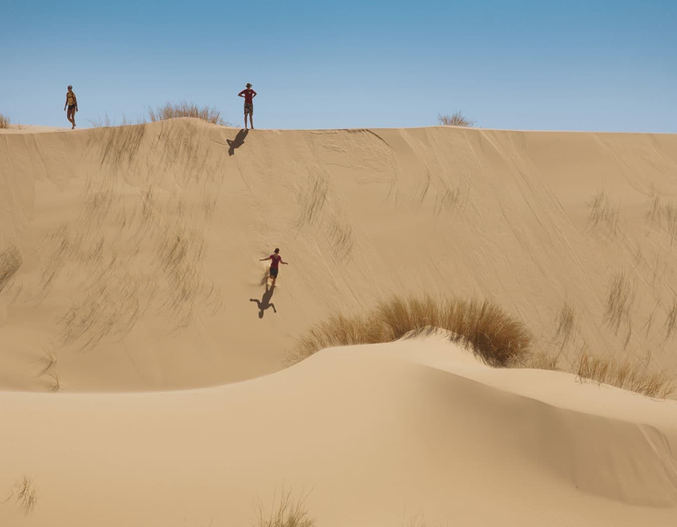 Cape Town Sandboarding