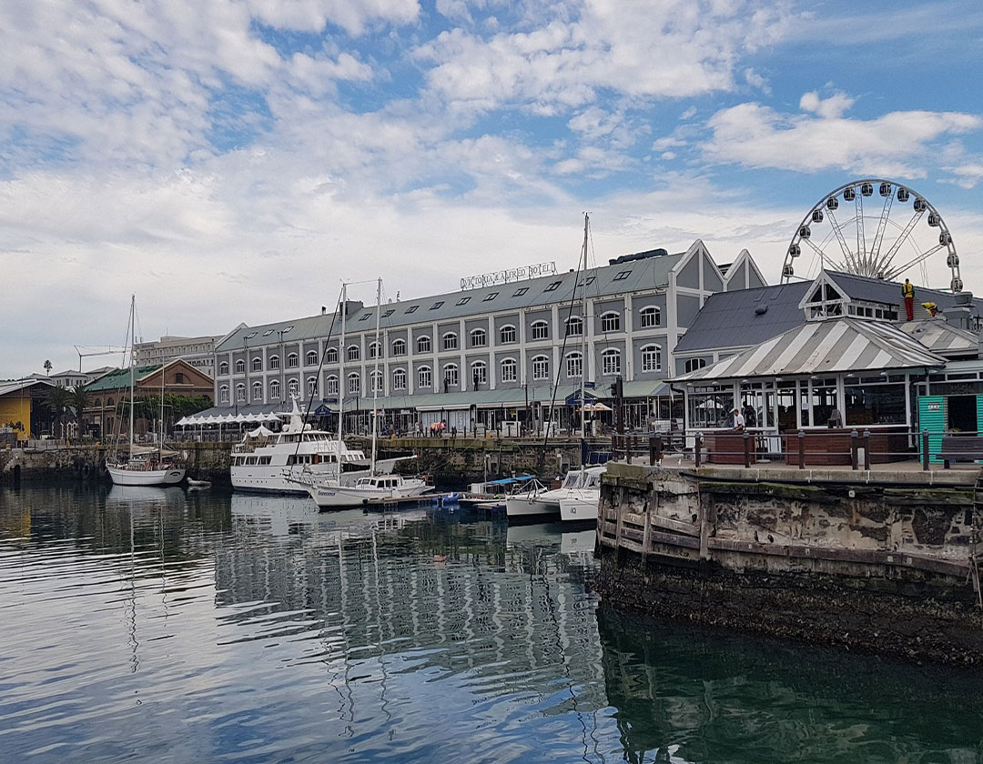 Cape Town City Bowl and V&A Waterfront