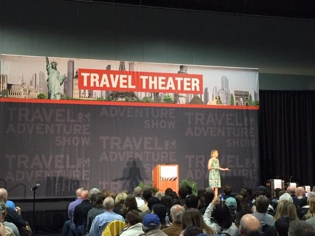 Samantha Brown at Travel & Adventure Show 2019