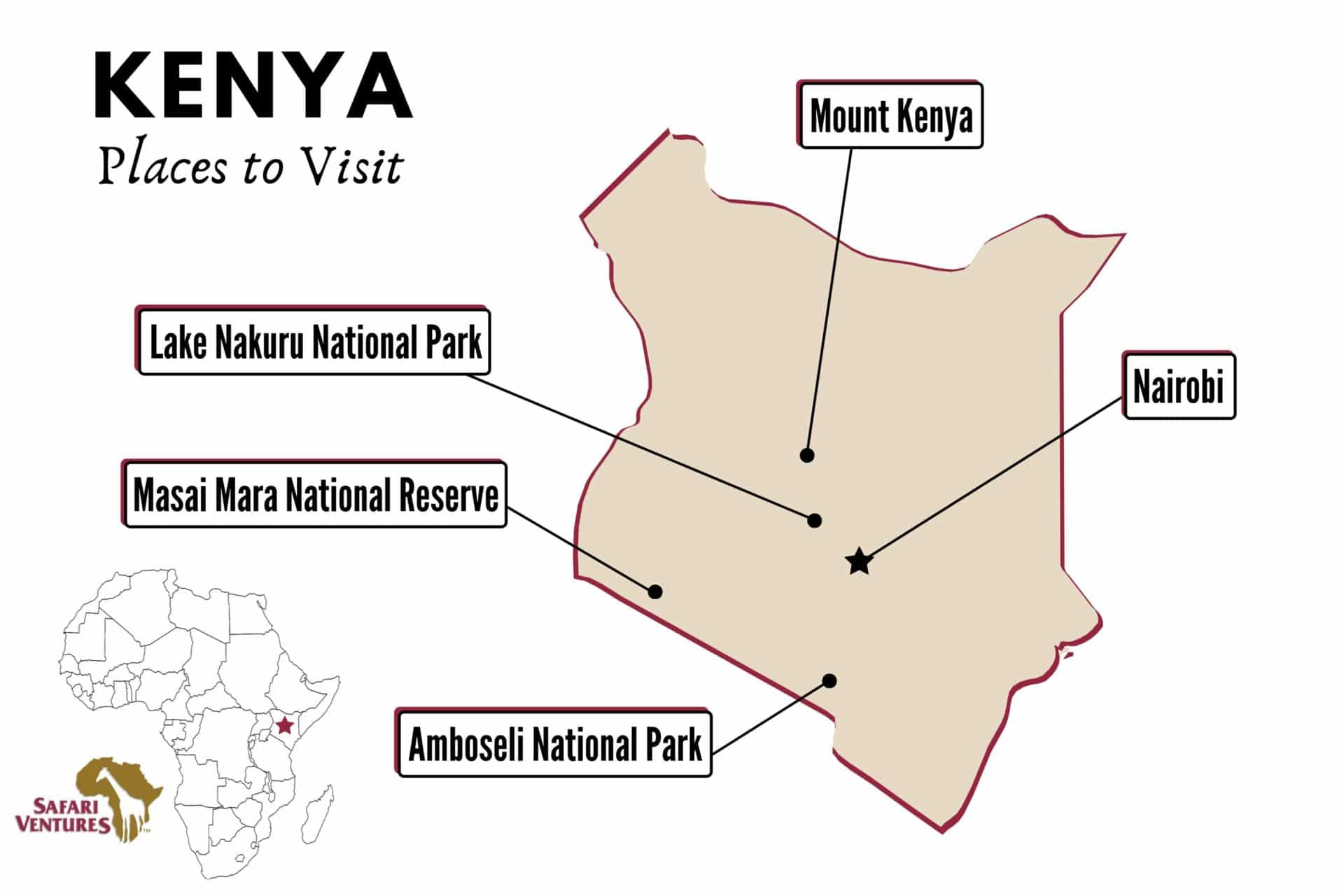 Places to visit in Kenya