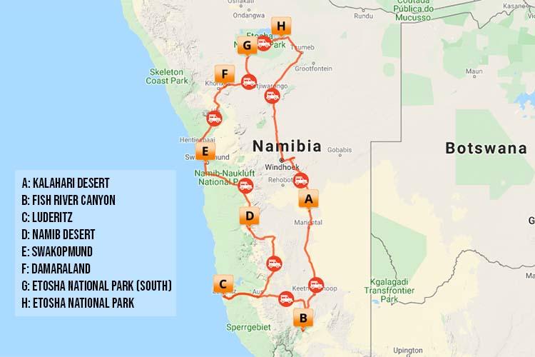 Namibia 13 Day Classic Tour